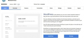Instal WordPress Dengan Softaculous
