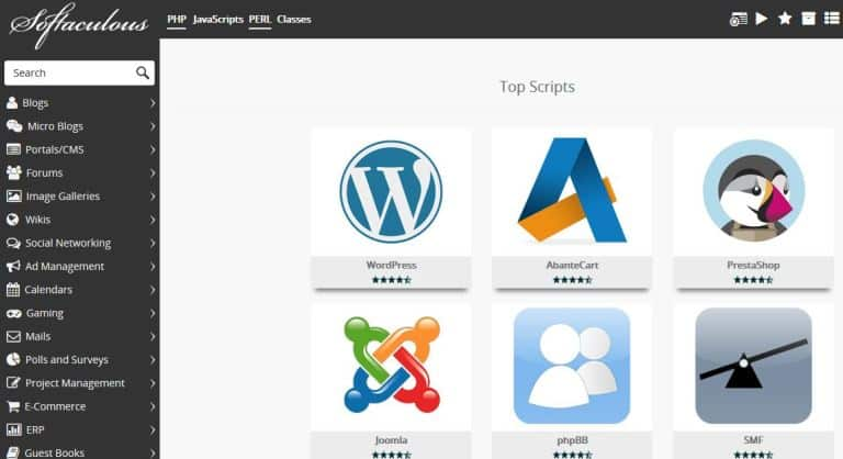 install-wordpress via softaculous cpanel